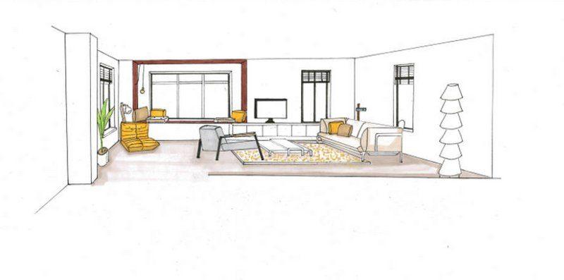 Eindexamenopdracht binnenhuisarchitectuur designstudio for Moderne binnenhuisarchitectuur