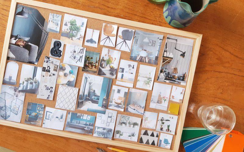 moodboard, interieur, workshop, Arnhem, woonwinkel, COCO-MAT, droomhuis, woonwensen, interieuradvies, DIY