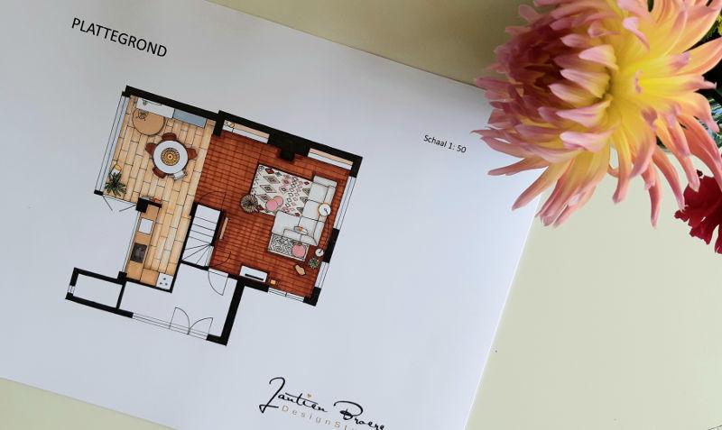 plattegrond-interieur-kleuren-tekening
