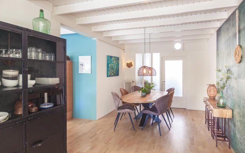 interieuradvies eetkamer woning Huissen landelijk en industrieel