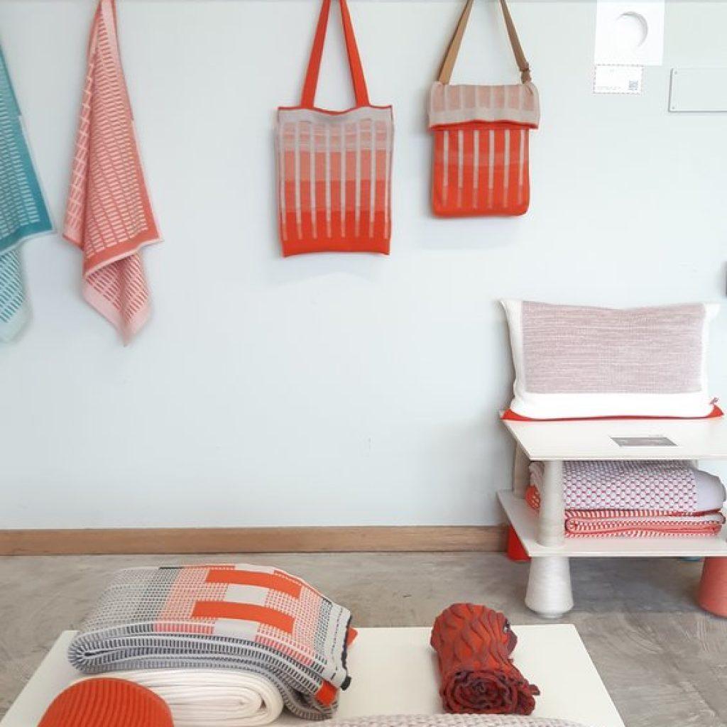 Textiel design van OrangeorRed te zien tijdens Duch Design Week in Eindhoven 2019