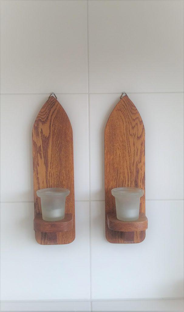 Handgemaakte houten woonaccessoires
