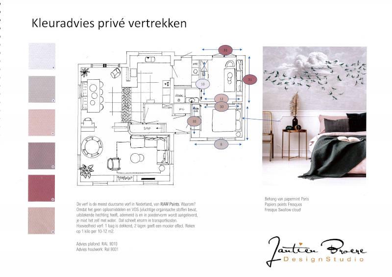 Duurzaam kleuradvies woonhuis Didam RAW Paints