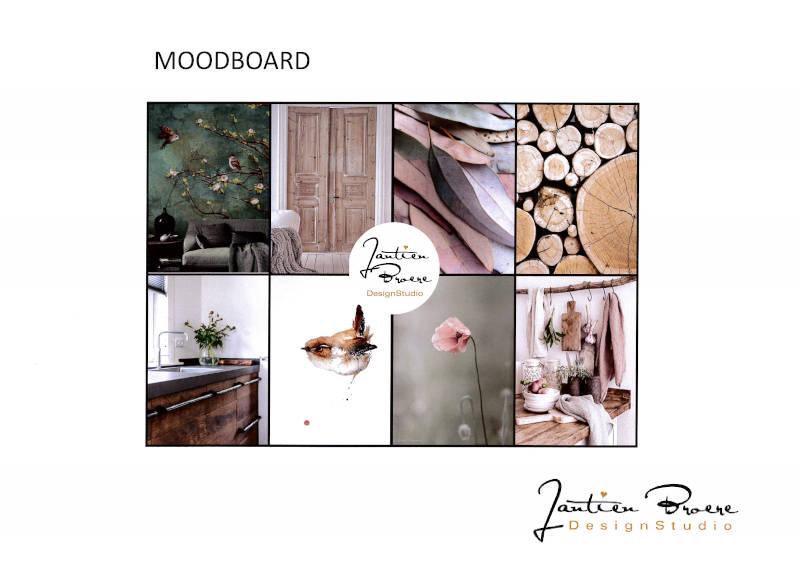moodboard woonhuis interieuradvies Didam