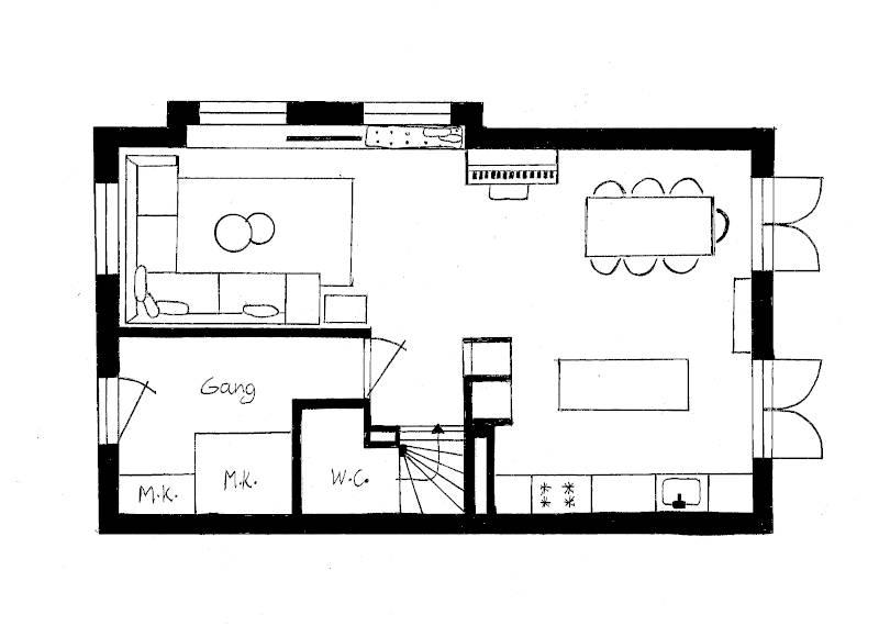technische plattegrond, interieurplan, nijmegen, schaaltekening, interieur