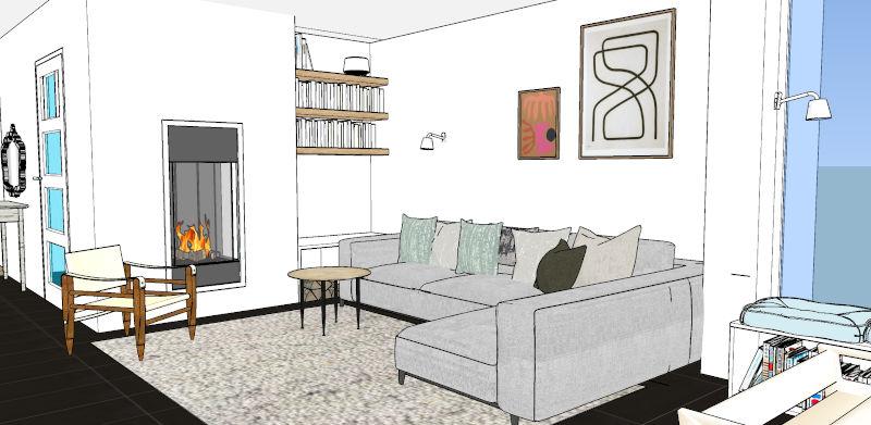 interieurontwerp hergebruik meubels en materialen in woonkeuken