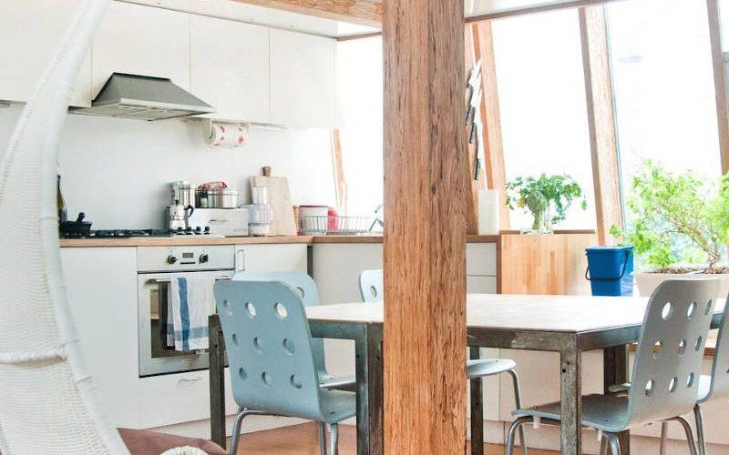 airbnb interieur woonkeuken in Londen
