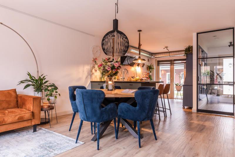 interieurontwerp, woonhuis, Vleuten, woonkamer, restyling, eethoek