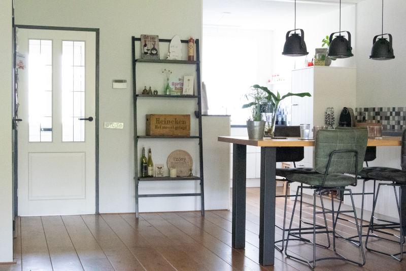 glazen deur, meer licht in huis, interieuradvies aan huis, interieurontwerp, Gelderland, Beek