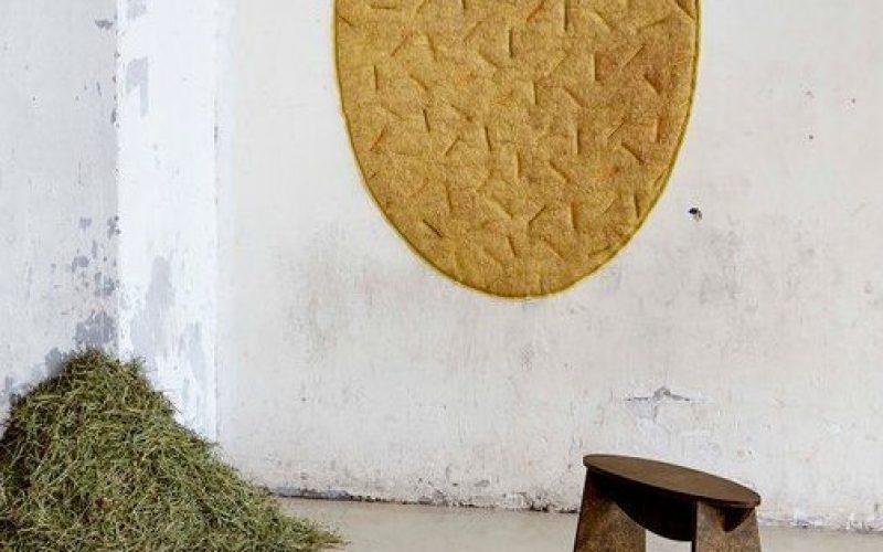 Kruk gemaakt met dennennaalden door Tamara Orjala